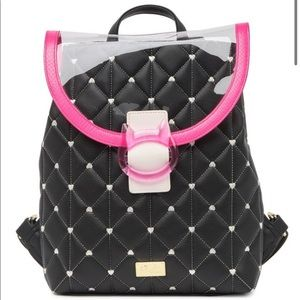 *Final Price* Betsey Johnson Quilted Backpack